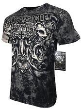 Xtreme couture by affliction Men T-Shirt Hades Calaveras MOTOCICLISTA MMA UFC S-4X $40