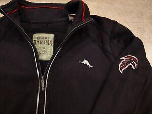 Atlanta Falcons Tommy Bahama NFL Womens Jacket XS 1/4 Zip Football Pima Pullover