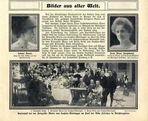 Gartenfest des Adels im Park der Villa Felicitas in Berchtesgaden von 1910