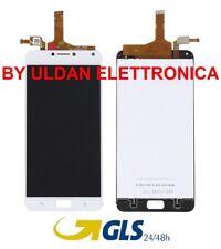 LCD DISPLAY ASUS Zenfone 4 Max ZC554KL X00ID X00IS TOUCH SCREEN SCHERMO BIANCO