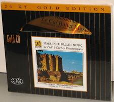 CISCO 24kt GOLD CD GCD8002: Massenet - Le Cid etc. - Fremaux - OOP 1995 USA SS