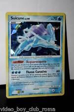 CARTA POKEMON SUICUNE TIPO / ACQUA 19/132 EDIZIONE ITALIANA 2008 RARA FOIL