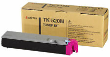 Kyocera Cartridge TK-520M Genuine Magenta Toner FSC-5015N