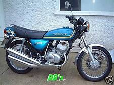 Kawasaki KH250 B1 Triple Decal Set Blue - THE BEST