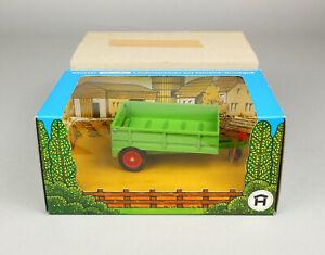 Hausser Elastolin 4440 Einachsiger Anhänger OVP 1:32 Trailer Farm toy boxed