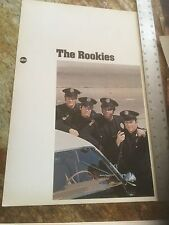 Vintage The Rookies / ABC Promotion Poster HTF RARE