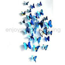 12pcs Artificial Butterfly Craft for Home Wedding Party DIY Decoration Gift