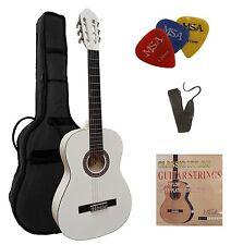 Gitarre-Konzert 7/8, Set-Tasche,Gurt,Saiten-3xPik,verschiedene Farben, Zubehör!n