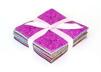 "Band of Color  pre cut charm pack 5"" squares 100% cotton fabric quilt 102 pieces"