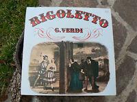 NUOVO 33 Giri Vinile Rigoletto G. Verdi