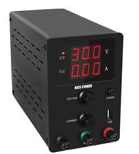 Labornetzteil Netzteil 0-30V  und  0-10A + USB anschluß