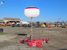 New listing Lot of (5) Mq Gbw Portable Elec Balloon Job Site Work Lights 1000W Mh bidadoo