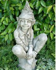 """Gartendeko Figur Skulptur kleine Elfe """"SUSAN  Pheeberts by Fiona Scott Steinguss"""