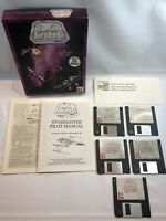 Lucas Arts STAR WARS X-WING Space Combat Simulator Big Box Floppy Disk PC Game
