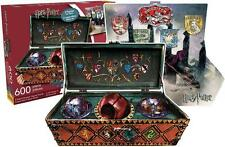 AQUARIUS SHAPED 2-SIDED PUZZLE HARRY POTTER QUIDDITCH SET 600 PC #75012