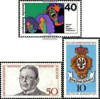 BRD (BR.Deutschland) 844,845,864,865,866 (kompl.Ausg.) gestempelt 1975 Landshut,