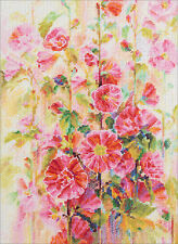 "Counted Cross Stitch Kit PANNA - ""Blooming Mallow"""