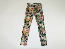 7 For All Mankind Women's Gwenevere Skinny Ankle Jeans Size 23 NWT Floral Print