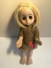 """Vintage 1965 Hasbro LITTLE MISS NO NAME Doll, 15"""", First Version - As Is"""