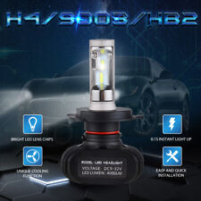 2X H4 9003 HB2 50W 8000LM LED Headlight Bulb CSP Dual Light For Ford Focus 00-04