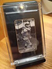 Babe Ruth 1936 Boston Braves baseball card. 1/1 set unknown. Read more