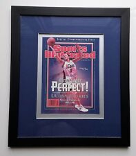 UCONN Women's Basketball Framed SI Commemorative 2002 Sue Bird, National Champs