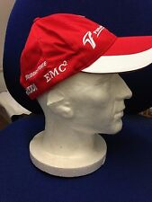 CAP Official Formula One 1 Kids  size TOYOTA RACING  red F1 RARE collectors item