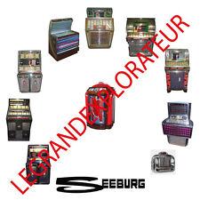 Ultimate Seeburg Jukebox Owner Repair Service manual & schematics    200 PDF DVD