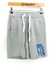 HOLLISTER Mens Shorts XS W28 L9 Grey Cotton & Polyester