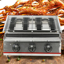 Portable Gas Grill BBQ Camping Propane Barbecue Burner Backyard Outdoor Cooking