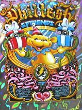 PHIL LESH POSTER Grateful Dead BDAY Capitol Theatre LAVA FOIL SIGN 36/50 MASTHAY