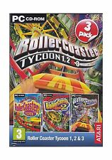 Roller Coaster Tycoon 123 (3-pack) Free Shipping