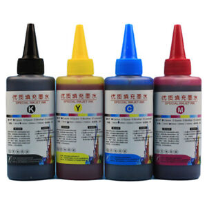 Universal  100ml Color Ink Cartridge Refill Kit For HP & Canon Series Printers