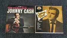 JOHNNY CASH 2 Lp's RECORD LOT SUN & COLUMBIA RECORDS SONGS THAT MADE HIM FAMOUS