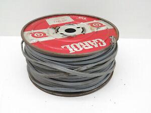 (250ft) Carol SPT-1 Gray 18/2 Lamp Cord Copper Wire Roll #18 AWG Gauge 300V
