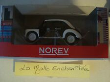 1/54 3-INCHES RENAULT 4 CV 1946 POLICE NATIONALE -NOREV RENAULT