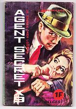 AGENT SECRET X9 MENSUEL No1  <1965<ESPIONNAGE 128 PAGES<