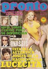 Pronto nº150 Nadiuska, Marisol, Susana Estrada, Massiel, Carmen Maura