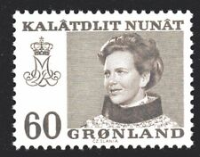 Greenland 1973 60 Ore Queen Margrethe II Mint Unhinged