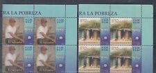El Salvador 2005 America Poverty Sc 1634-1635 Blocks Mint Never Hinged