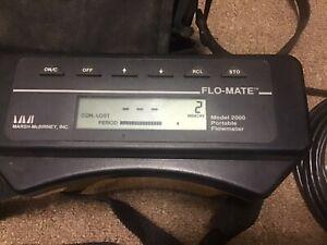 Flo-Mate Model 2000 Portable Flowmeter by Marsh-McBirney