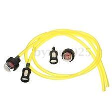 Set of 6 Fuel Line and Primer Bulb +Fuel Filter Kit Set for Brush Cutter Trimmer