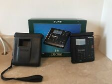 Sony Discman D-35 D-350 CD Player Vintage Collectible w/ Box & All Accessories