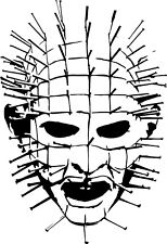 Pinhead vinyl decal sticker hellraiser hellbound heart clive parker horror