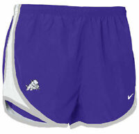 TCU Horned Frogs Women's Purple  Dri FIT empo Running Shorts By Nike
