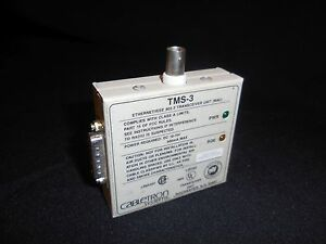 Cabletron TMS-3 Ethernet/IEEE 802.3 Tranceiver Unit (MAU) Used Old Stock