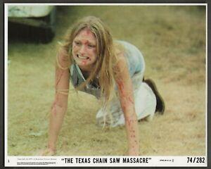 1974 THE TEXAS CHAIN SAW MASSACRE ORIGINAL 8 X 10 LOBBY CARD COLOR PHOTO