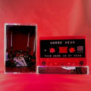 RARE!! Horse Head This Mess Is My Mess Red Cassette LIL PEEP GBC GOTHBOICLIQUE