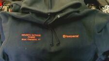 husqvarna chain saw heavy weight hoodie size x-large / from dealer