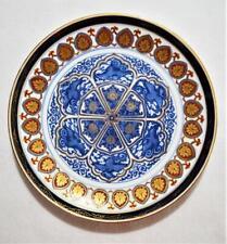 "New listing Vintage Japanese hand painted gold Imari 12"" phoenix plate"
